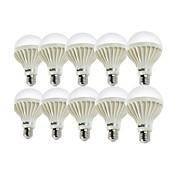 3W E26/E27 LED Kugelbirnen A50 6 SMD 5630 200 lm Warmes Weiß / Kühles Weiß Dekorativ AC 220-240 V 10 Stück