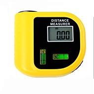 probador del medidor de distancias por láser electrónica con pantalla LCD digital (rango: 2 ~ 60 pies, + / - 5%)