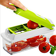 12 in 1 Nicer Dicer Plus The kitchen multi-function Shredder Salad Machine