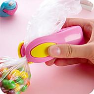 Portable Mini Snacks Plastic Bags Heat Sealing Machine Travel Hand Pressure Type