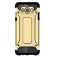 Varten Samsung Galaxy kotelo Iskunkestävä / Vedenkestävä Etui Takakuori Etui Panssari PC SamsungJ7 (2016) / J5 (2016) / J1 (2016) / J1