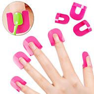 26pcs/Sets Creative Nail Art Polish Protector Tools Nail  Manicure DIY Tools