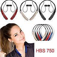 hbs750 sport neckband mode oreillette bluetooth 4.0 stéréo avec pour iphone samsung et d'autres (couleurs assorties)