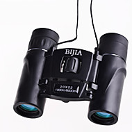 BIJIA 20 22 mm Binocolo HD BAK4 Impermeabile / Generico / Roof Prism / Porro Prism / Alta definizione / Cannocchiale / Visione notturna