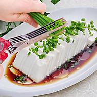 1 kpl Cutter & Slicer For vihannesten Ruostumaton teräs Korkealaatuinen / Creative Kitchen Gadget