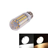 YouOKLight®  1PCS E14 5W 99*SMD5730  350LM Warm White Cold White  CRI>80 LED Corn Bulbs Lamp (110-120V/220V-240V)