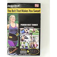 midja trimmer bälte fett brännare mage bastu svett magen yoga inpackning motion gå