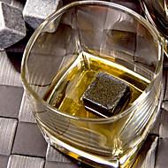 אבני ויסקי טבעי 1pc לוגם אייס קיוב רוק יין שמפניה ויסקי בר קריר מתנת אלכוהול בירת חתונה