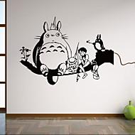Tiere / Botanisch / Cartoon Design / Stillleben / Formen / Personen / Fantasie Wand-Sticker Flugzeug-Wand Sticker,vinyl 58*42cm