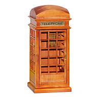 legno rosso marrone creativo carillon / romantica per il regalo
