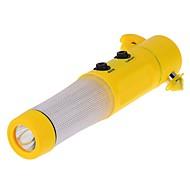 ziqiao veiligheid van auto's hamer LED zaklamp gordelsnijder glas breaker auto rescure hulpmiddel