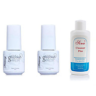 Lak za nokte UV gel 5ml+5ml+60ml 3 Gornji sloj Base Coat Soak off dugotrajnim