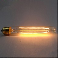 E27 ac220-240v 40w silkki hiili hehkulampun hehkulamput T185 ympärillä helmi