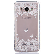 Na Samsung Galaxy Etui Przezroczyste Kılıf Etui na tył Kılıf Kwiat Miękkie TPUJ7 / J5 (2016) / J5 / J3 / J2 / J1 (2016) / J1 Ace / J1 /