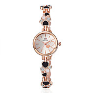 Montre Femme New Quartz Watch Women Ladies Fashion Wrist Watches Love Heart Bracelet Watch Wristwatch Clock Quartz Watch Cool Watches Unique Watches