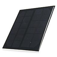 3W 6v utgång polykristallina kisel solpanel för diy