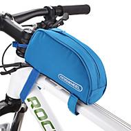 ROSWHEEL® 자전거 가방 1L자전거 프레임 백 방수 지퍼 / 방습 / 충격방지 / 착용할 수 있는 싸이클 가방 PVC / 600D 폴리에스터 싸이클 백 사이클링 18*10*6.5
