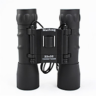 Maifeng 22X32 mm Binoculars High Definition Handheld General use Bird watching BAK4 Multi-coated Normal 1500M/7500M Central Focusing