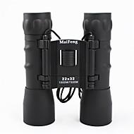 MaiFeng 22X32 mm 双眼鏡 高解像度 ポータブル 一般用途向け バードウォッチング BAK4 マルチコーティング 1500M/7500M センターフォーカス