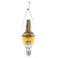 7W E14 Ampoules Bougies LED S14 25 SMD 2835 600 lumens lm Blanc Chaud Décorative AC 85-265 / AC 100-240 V 1 pièce
