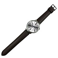 Negro / Marrón Piel Hebilla Clásica / Correa de Cuero Para Huawei Reloj 18mm