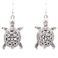 Legering Mode Skåret Blomstformet Geometrisk form Sølv Smykker Bryllup Fest Daglig Afslappet 1 par