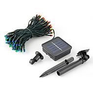 10M Led Solar Energy Lights With 100Led Ball 220V Holiday Decoration Lamp Festival Christmas Lights Outdoor Lighting