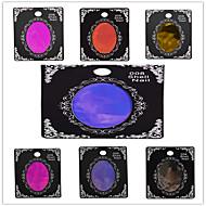 1pcs 50cm*5cm Nail Art Beautiful Color Transfer Foil Glitter Sticker Shinning BX01-07