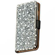 lommebok stand bling krystall diamant lærveske deksel til Samsung Galaxy j5