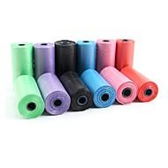 pet sacchetto dell'immondizia per i cani escrementi (colore casuale, 15 pezzi)