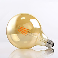 G125 8W E27 650LM 2700K 360 Degree LED Filament Light G40 Vintage Edison Glass Bulb (220-240V)