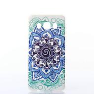 Mert Samsung Galaxy tok Minta Case Hátlap Case Mandala Puha TPU Samsung J7 (2016) / J5 (2016)
