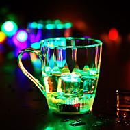 1 adet renkli renkli yaratıcı rastgele pub ktv led lamba gece lambası Drinkware led