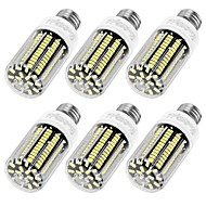 YouOKLight 6PCS High Luminous E27 E12 110V 136*SMD5733 LED Corn Bulb 12W Spotlight LED Lamp Candle Light