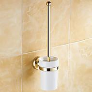 Toiletbørsteholder / Poleret messing / Vægmonteret /20*10*37 /Messing /Antik /20 10 0.407