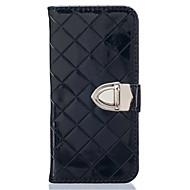 For Samsung Galaxy etui Kortholder Pung Med stativ Flip Præget Etui Heldækkende Etui Geometrisk mønster Blødt Kunstlæder for SamsungJ5