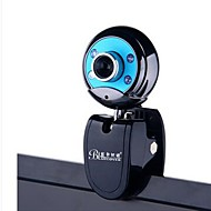 BLUELOVER W9 kamera hd hämäränäön valot USB2.0 webbikamera sisäänrakennettu mikrofoni