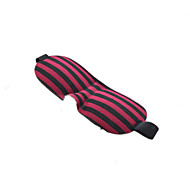 1 PCS HOT SALE 3D Portable Soft Travel Sleep Rest Aid Eye Mask Cover Eye Patch Sleeping Mask Case Ramdom Colors