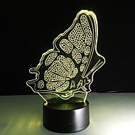 dotykowy 1szt 3 d kolorowe lampy led wizja zmian lampy biurko prezent atmosfera kolor Night Light