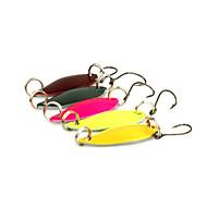 "5 pcs Cucharas Multicolor 3 g/1/8 Onza,30 mm/1-1/4"" pulgada,MetalPesca de Mar / Pesca al spinning / Pesca jigging / Pesca de agua dulce /"