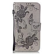 Full Body Wallet / Korttipaikka / telineellä / Voltti / Embossed / Kuviointi Other Tekonahka Pehmeä Tapauksessa kattaa Samsung GalaxyJ5