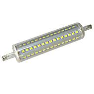 12 R7S LEDコーン型電球 T 90 SMD 3528 640-720 lm クールホワイト 装飾用 AC 85-265 V 1個