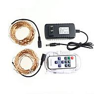 KWB 20 M 200 3014 SMD Blanc chaud Etanche / Télécommande / Intensité Réglable W Guirlandes Lumineuses DC12 V