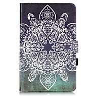 PU Leather Material Full Flower Embossed  Pattern Tablet Sleeve for Galaxy Tab T550/T560