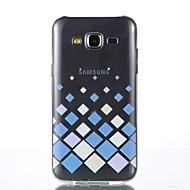 Για Samsung Galaxy Θήκη Διαφανής tok Πίσω Κάλυμμα tok Γεωμετρικά σχήματα Μαλακή TPU Samsung J5 / Grand Prime