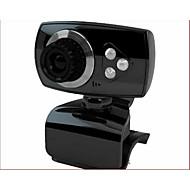 USB2.0 30fps 1200W pixel 360 graders roterende hd stasjonær datamaskin kamera webcam