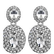 Kolczyki wiszące Cyrkonia Kamienie zodiakalne Cyrkon Cyrkonia White Biżuteria Na Ślub Impreza 1set