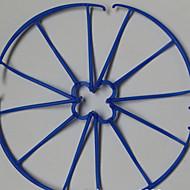 SYMA X5SC / X5 / x5C / X5S / X5SW SYMA X5/X5C/X5S/X5SC/X5SW hélice Guards RC Quadrotor / drones / Helicópteros RC Vermelho / Azul Plástico