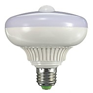12 B22 / E26/E27 Ampoules LED Intelligentes A90 12 LED Haute Puissance 800-1300 lm Blanc Chaud Capteur AC 85-265 V 1 pièce