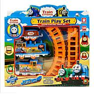 thomas treno pista fai da te vagoni ferroviari elettrici bambini modello educativo assemblati giocattoli di fantasia